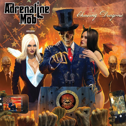 ADRENALINE MOB reveal new lyric video & single for 'Chasing Dragons'