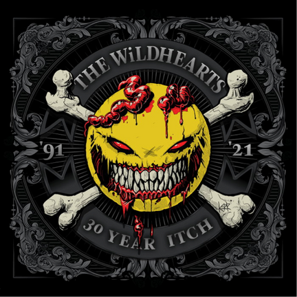 "The Wildhearts - Announce Double Live Album ""30 Years Itch"" Out On 4th December"