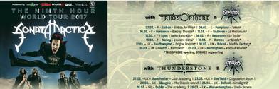Sonata Arctica Tour 2017