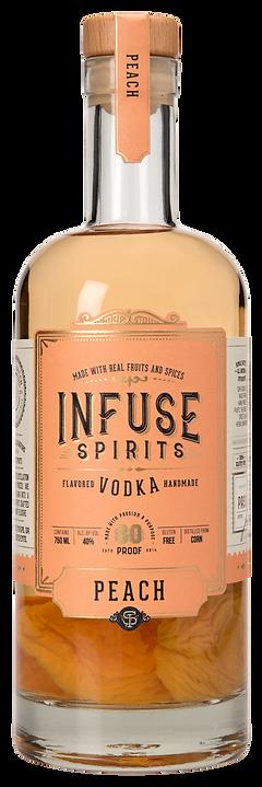 Infuse Spirits Peach Vodka