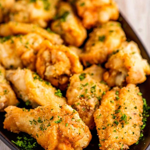 Lemon Peper Chicken Wings