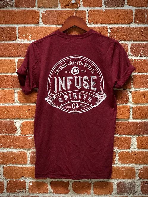 Infuse Spirits Burgundy T-Shirt
