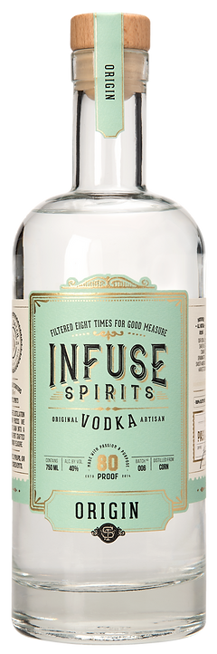 Infuse Spirits Origin Vodka