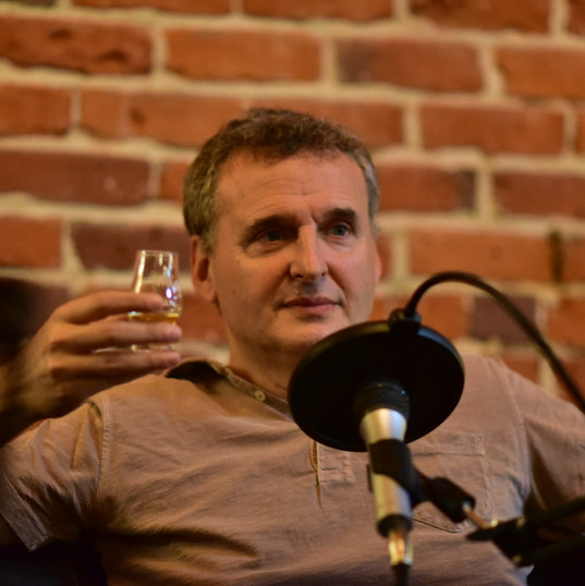 Phil Rosenthal enjoying some Bad Stuff Tequila