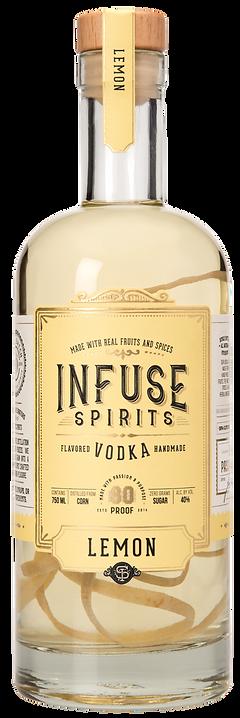 Infuse Spirits Lemon Vodka