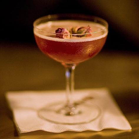 Bourbon Martini