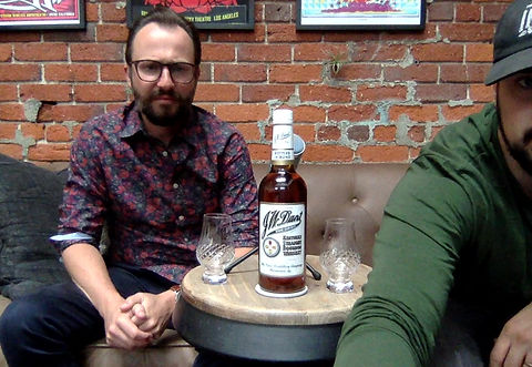 Seth and Cameron review JW Dant Bourbon Whiskey on the Cartel Hour
