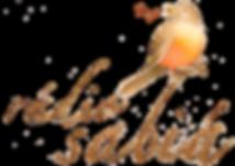 Logo da Rádio Sabiá - aquarela de um sabiá