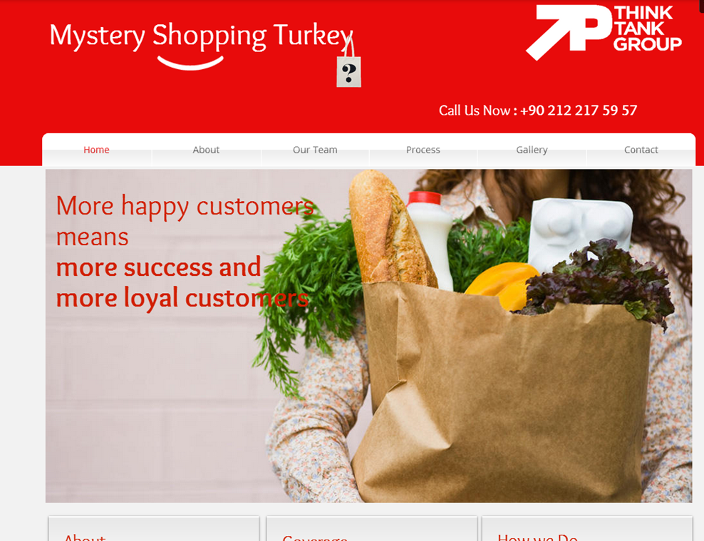 New Micro Site / Mystery Shopping