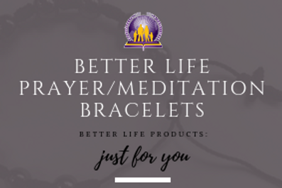 Better Life Prayer/Meditation Bracelet w/ The Affirmative Prayer Process Guide