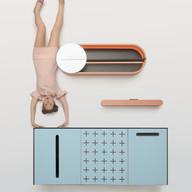 """Модульная мебель для ванных комнат """"MOON"""""""