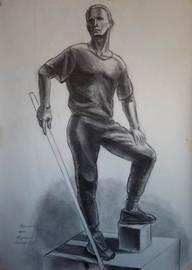Никольский К. Рисунок, фигура Арсения.jp