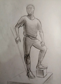 Никольский К. Рисунок, фигура Арсения эс
