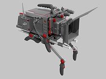 Профессональный киносъемочный аппарат 3в промдизайн
