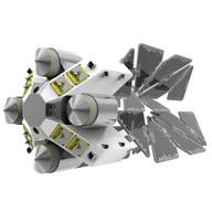 Робототехника для сборки мусора в космосе.