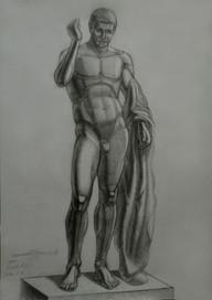 Никольский К. Рисунок, фигура Германика.