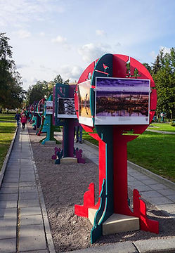 Конструкции интерактивной городской среды