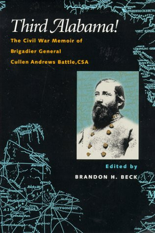 American Civil War Round Table UK / Book Review / Third Alabama - General Cullen Andrews Battle