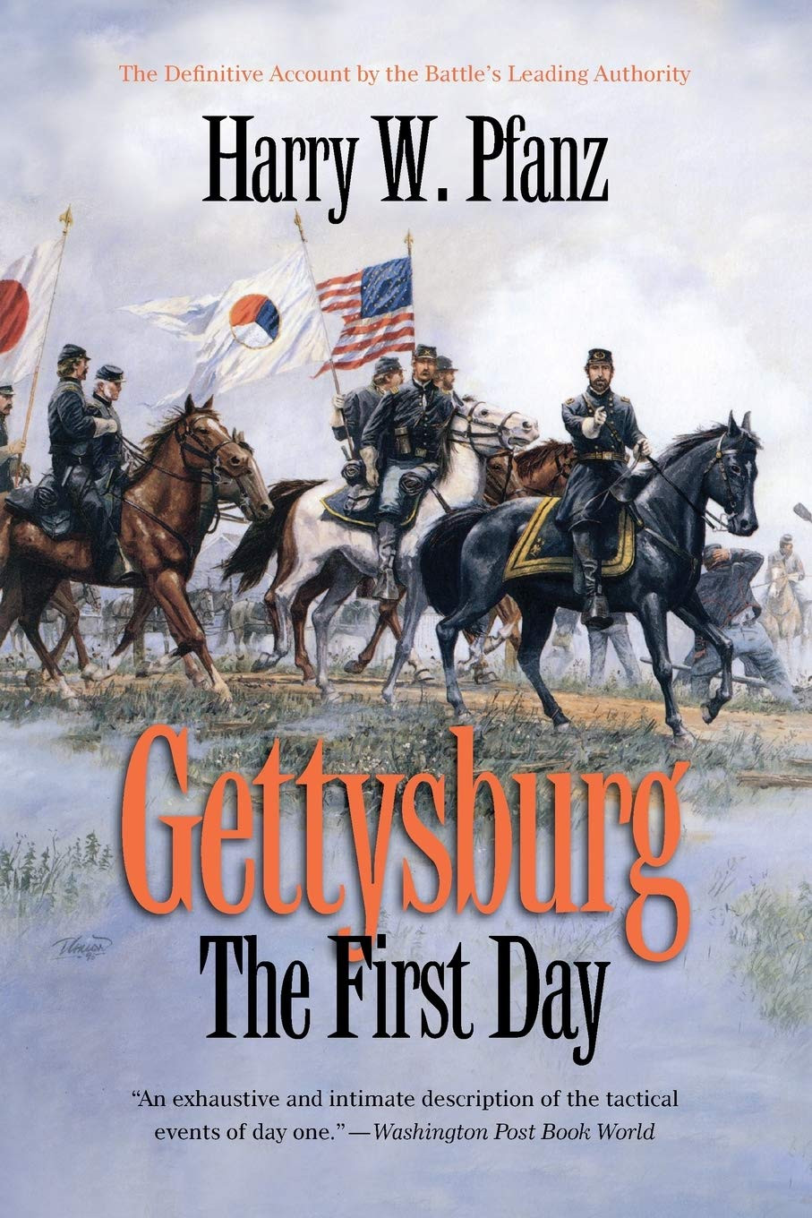 American Civil War Round Table UK / Book Review / Gettysburg The First Day / Harry Pfanz