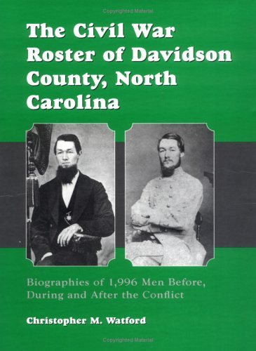 American Civil War Round Table UK / Book Review / The Civil War Roster of Davidson County