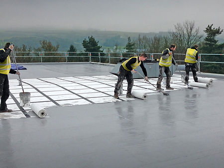 Liquid Waterproofing - Knight Asphalte