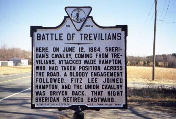 American Civil War Round Table UK / Battles & Campaigns / Battle of Trevilian Station 1864