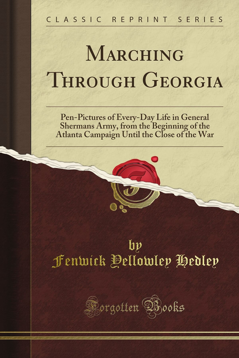 American Civil War Round Table UK / Book Review / Marching through Georgia