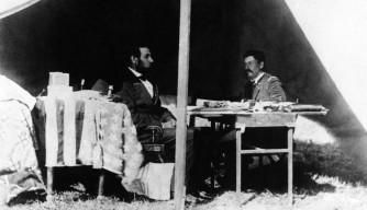 American Civil War Round Table UK / Battles & Campaigns / Lincoln wiht McClellan / Antietam