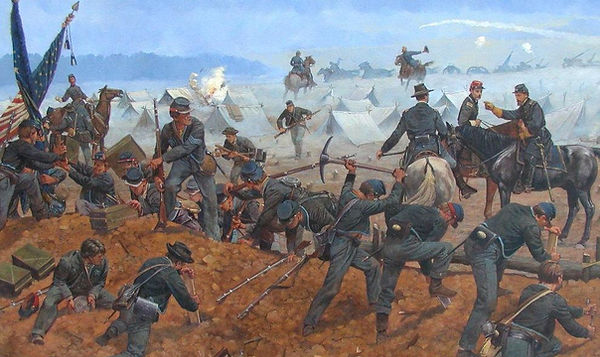 Reverse the Trenches painting