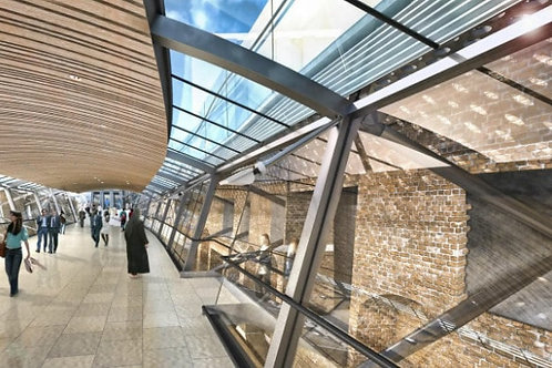 Whitechapel Station - Crossrail - Knight Asphalte