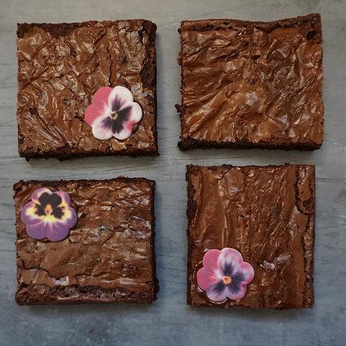 Floral Brownie Box