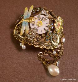 Dragonflies and Time Flies Bracelet