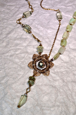 Flapper Girl Necklace
