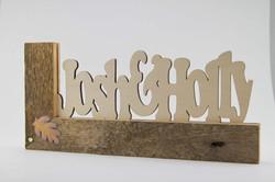 Wood Name Plates