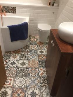 Moroccan Tiled Bathroom Suite