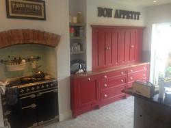 Built in Kitchen Dresser