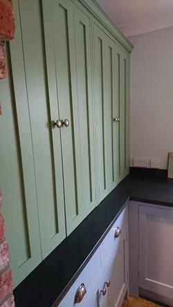 Painted Kitchen Unit