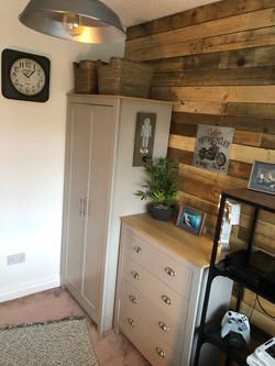 Bedroom Wall Refurb