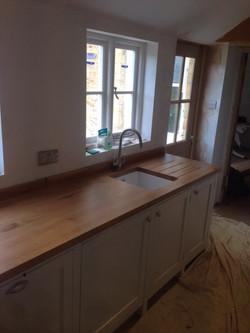 Kitchen Wood Work Tops