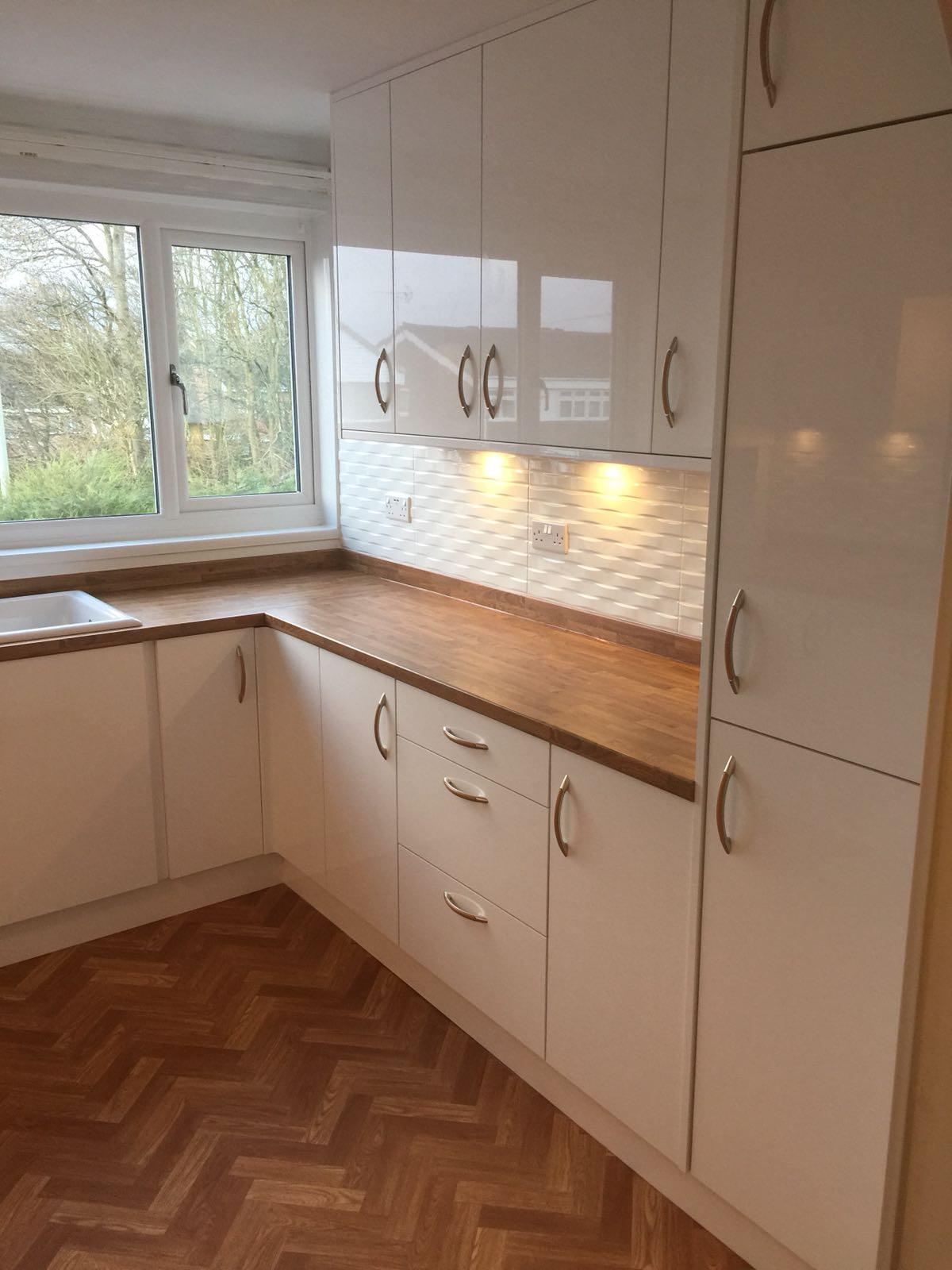 High Gloss Kitchen Design