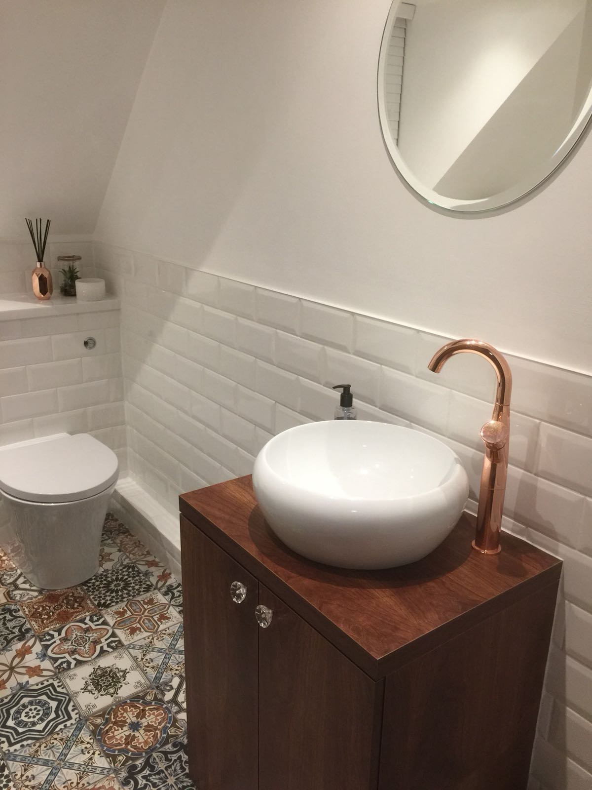 Bathroom Counter Basin Suite