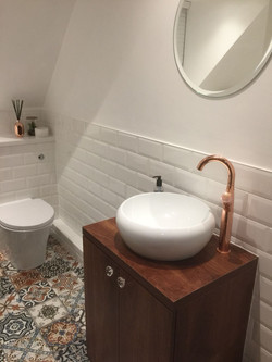 Bathroom Counter Basin Suite