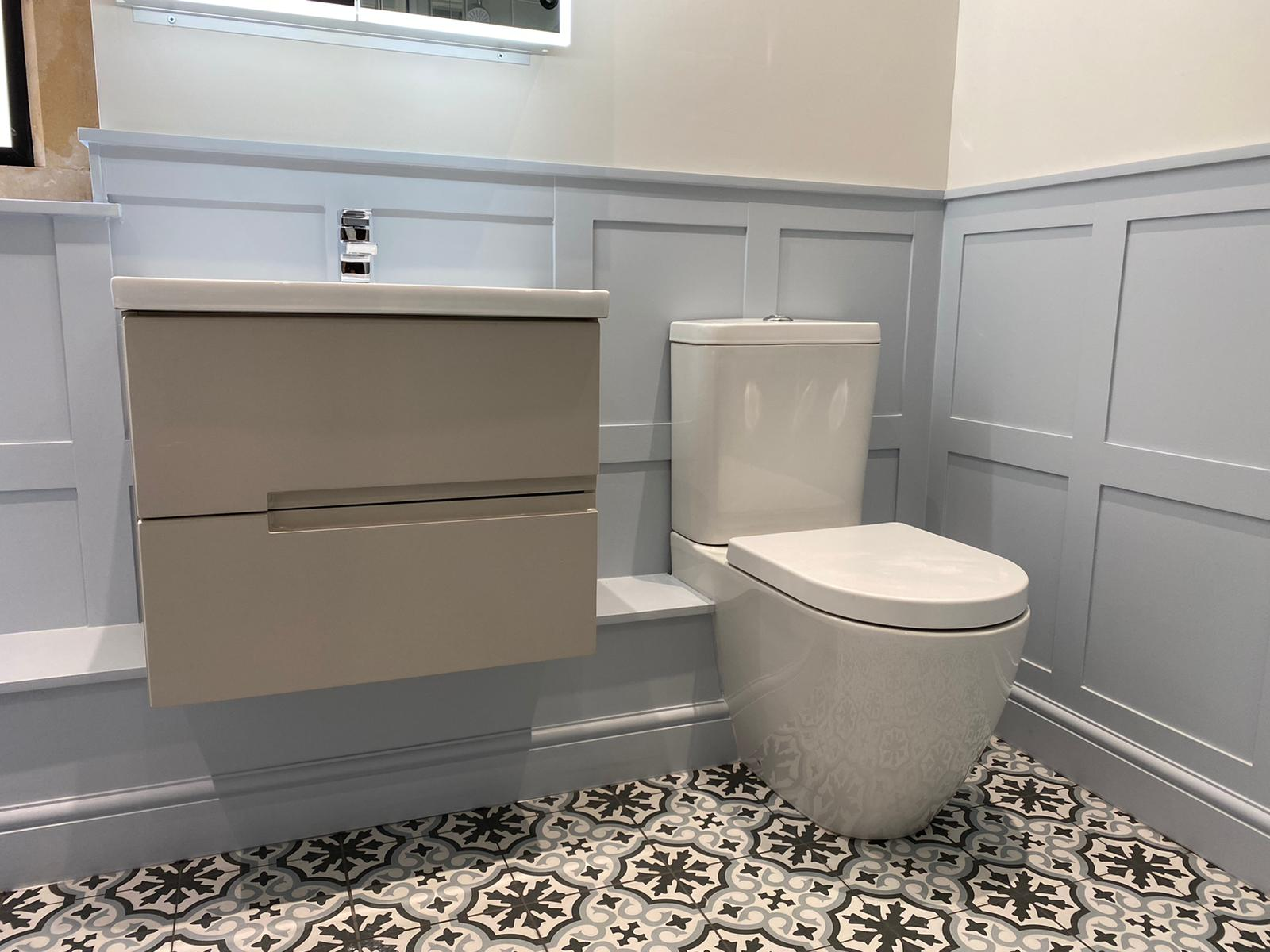 Bathroom WC and Sink