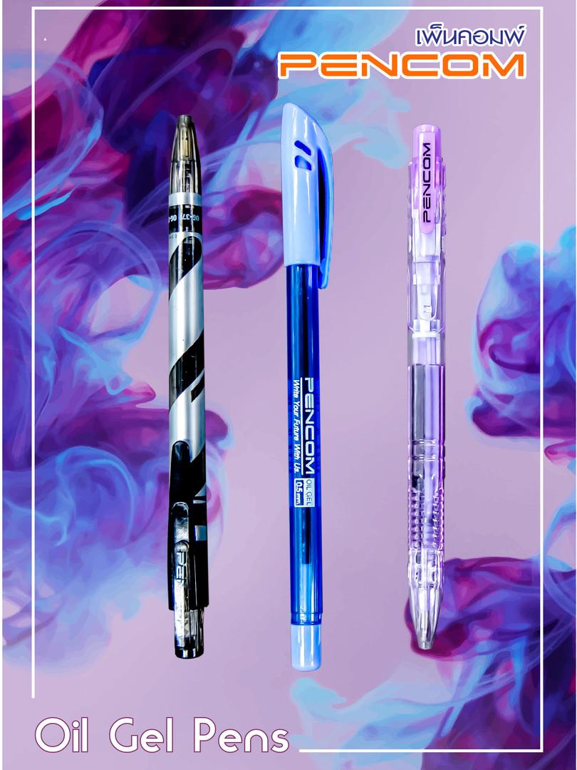 Oil Gel Pens