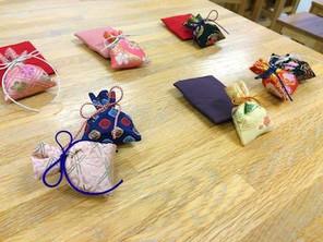 【ブログ更新】「継未-tugumi-香塾」の匂い袋ワークショップ 開催しました。