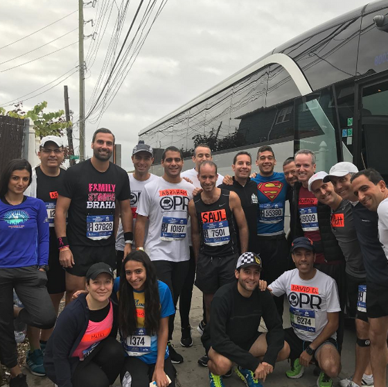 Ocean Parkway Runners Scores All Around Victories at The 2017 NYC Marathon!
