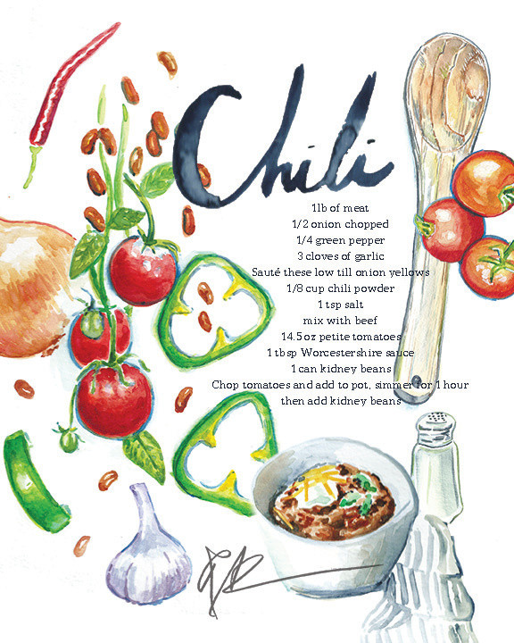 It's Chili Season!