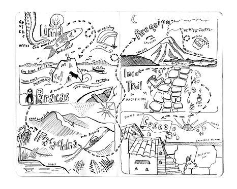 Peru Adventure Comic