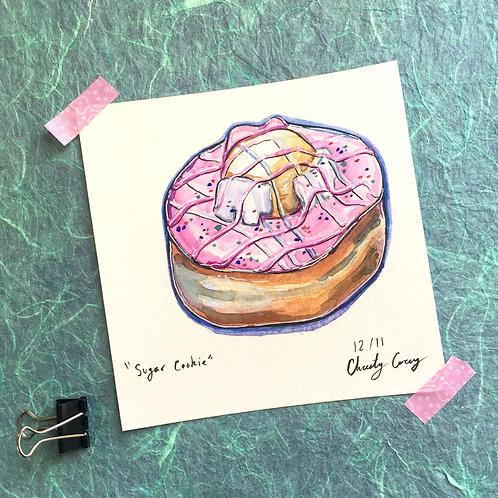 Sugar Cookie Donut