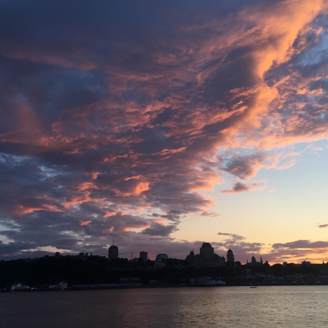 Clouds over Quebec
